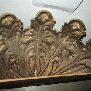 vintage Accents - Vintage Home Interior Gold Wall Planter